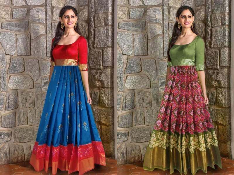 Turn your mom's saree into a designer kurta