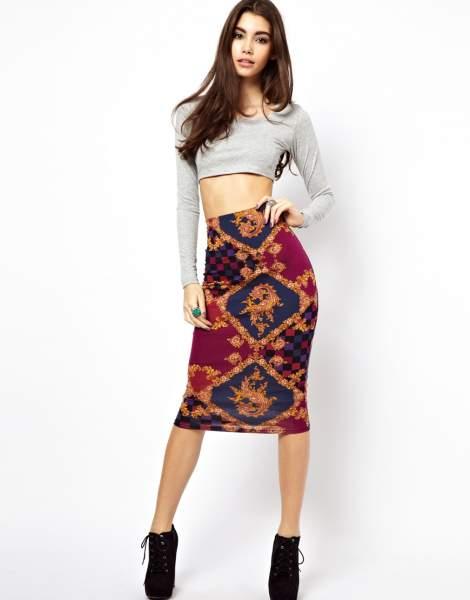 Create a chic pencil skirt