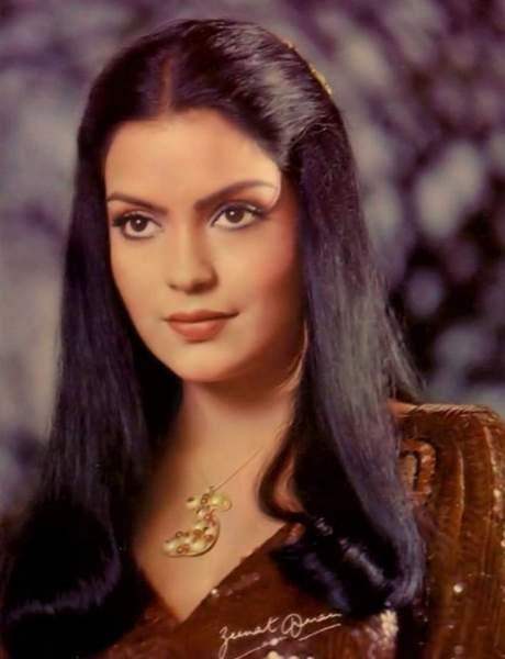 Zeenat Aman was born in Germany