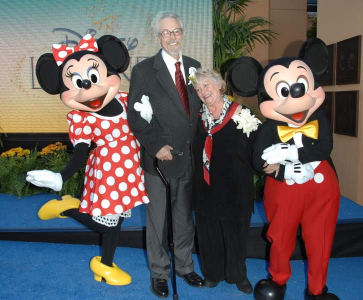 The two artists who voiced Mickey and Minnie Mouse were married