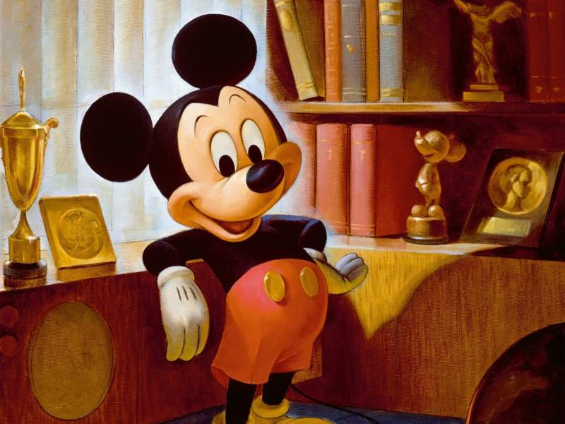 Mickey Mouse is 87 years old