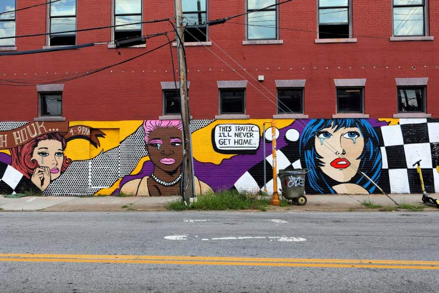 Art Walk in Atlanta