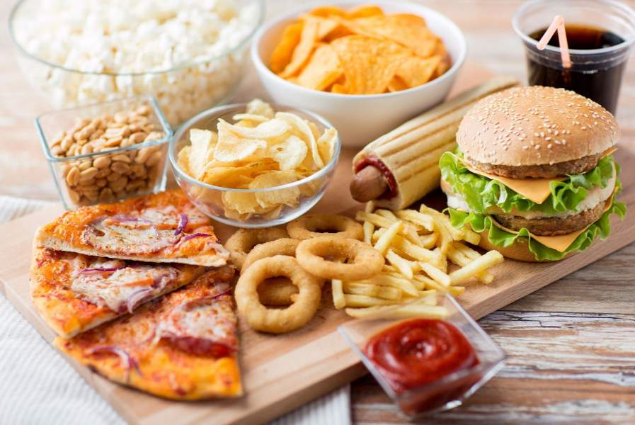 Strict 'NO' to oily and junk food