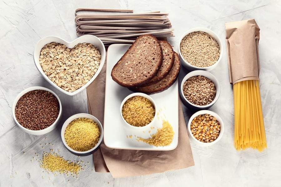 Consume lots of grains and pulses