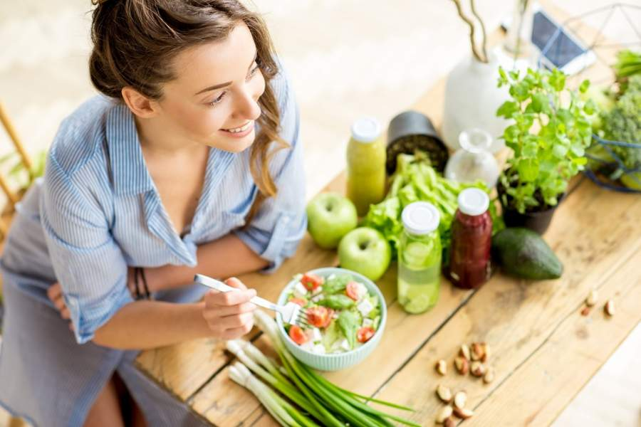 Say 'YES' to green and leafy vegetables