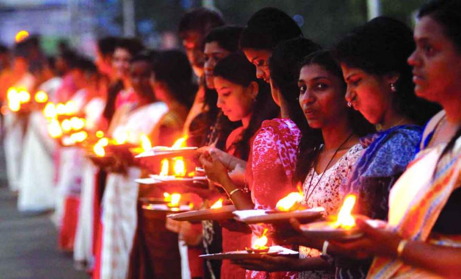 Kerala is the first state where women outnumber men