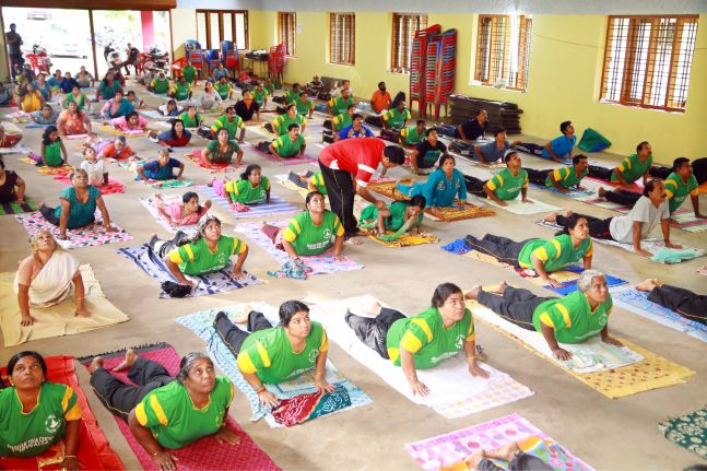 Kerala is the first state to have a complete yoga village