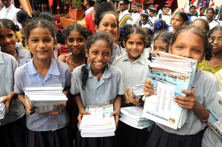 Kerala is the first Indian state to achieve 100% primary education