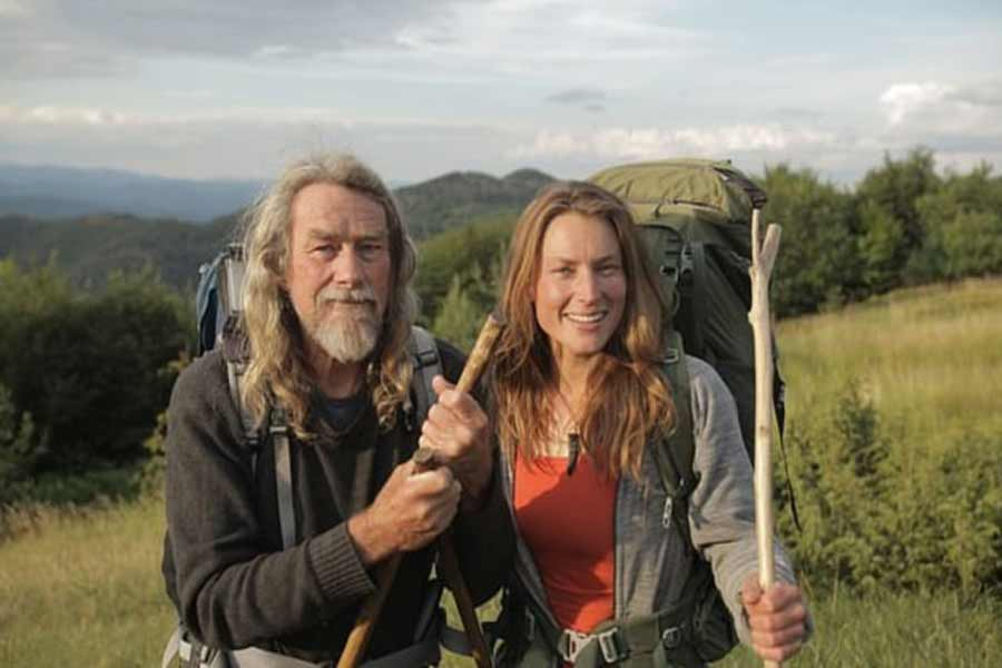 Miriam and Peter: Nomadic Life in Woods