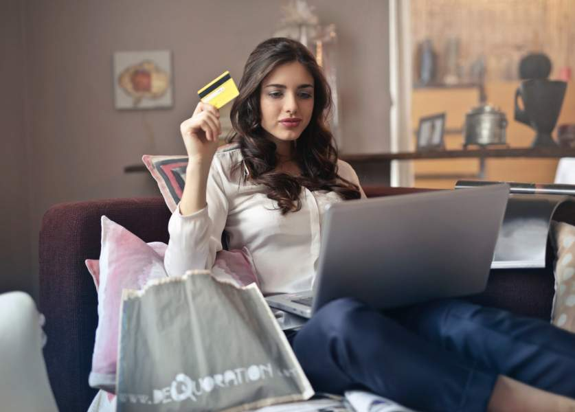 Never save your bank details at online shopping