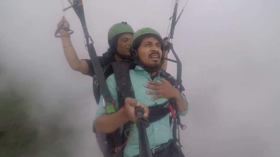 Vipin Sahu, the paragliding guy