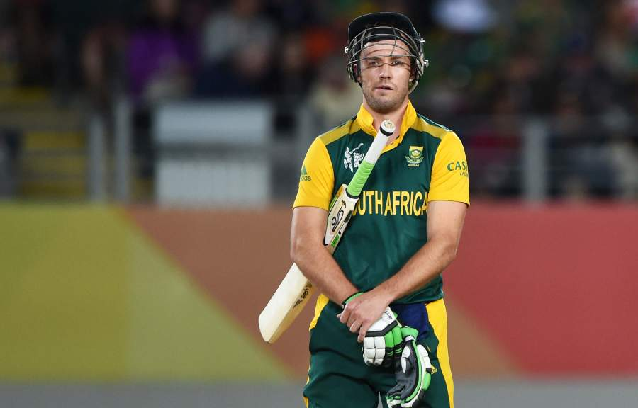 AB de Villiers in the list of Wisdon