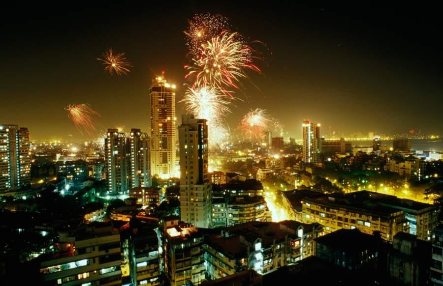 2020 New Year Celebration in Mumbai