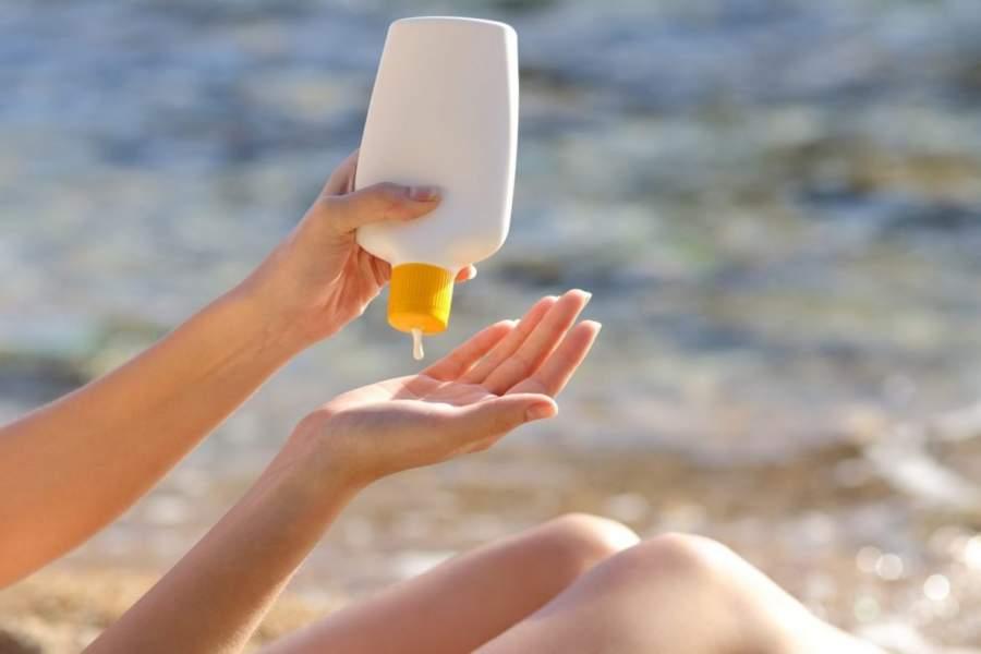 Wear sunscreen in winter