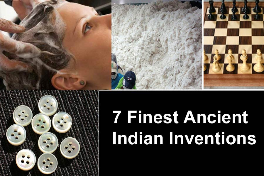 7 of The Finest Ancient Indian Inventions