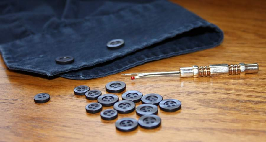 Invention of Buttons