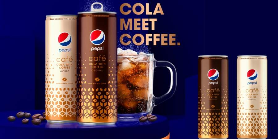 Pepsi Launches Its Own COFFEE Flavoured Cola Drink Pepsi Cafe