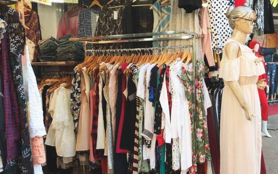 Shopping at Hill Road, Bandra