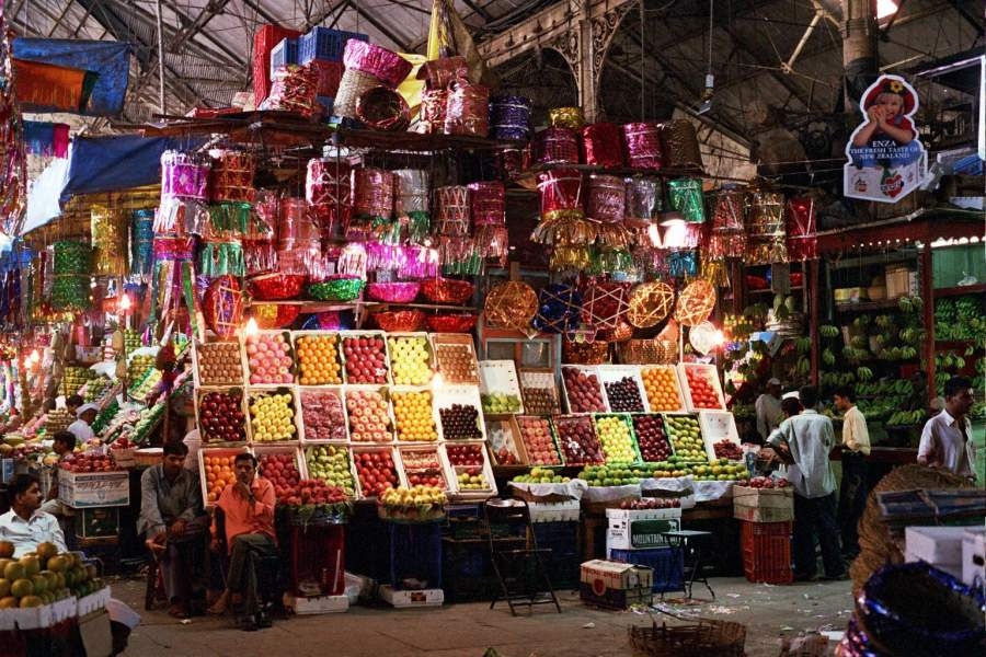 DryFruits at Crowford Market Mumbai