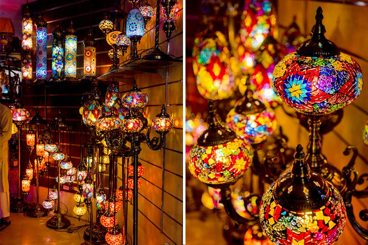 Lamps Crawford Market Mumbai