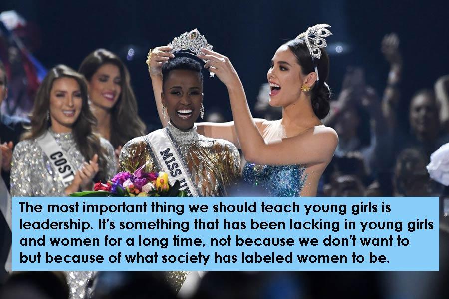 South Africa's Zozibini Tunzi Got The Title for Miss Universe 2019