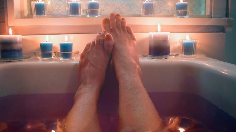 Soak in Hot Bathtub is good for Better blood circulation