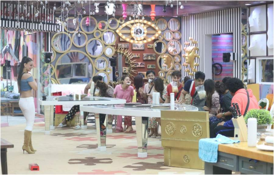Cleaning is not done by the contestants in Bigg Boss House