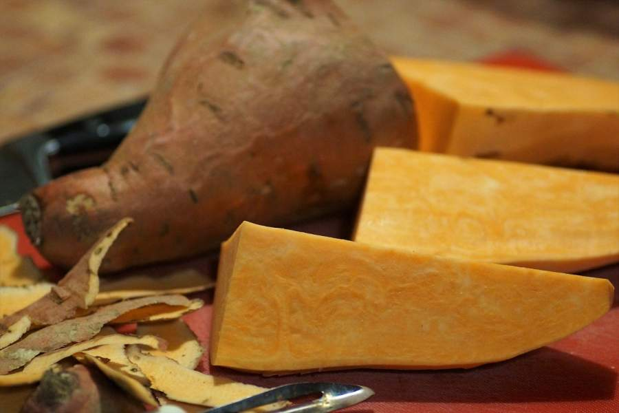 Low Calories in sweet potato