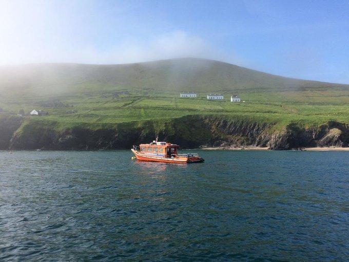 Remote Island in Ireland
