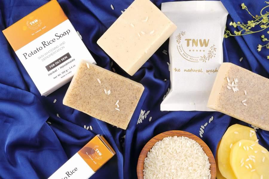 Potato Rice Soap