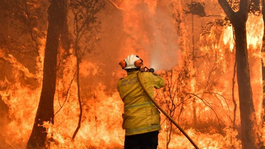 Firefighter Australia Bushfire