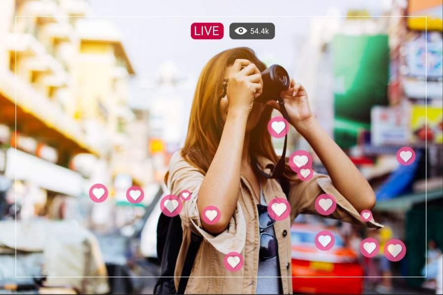 Becoming a social media influencer