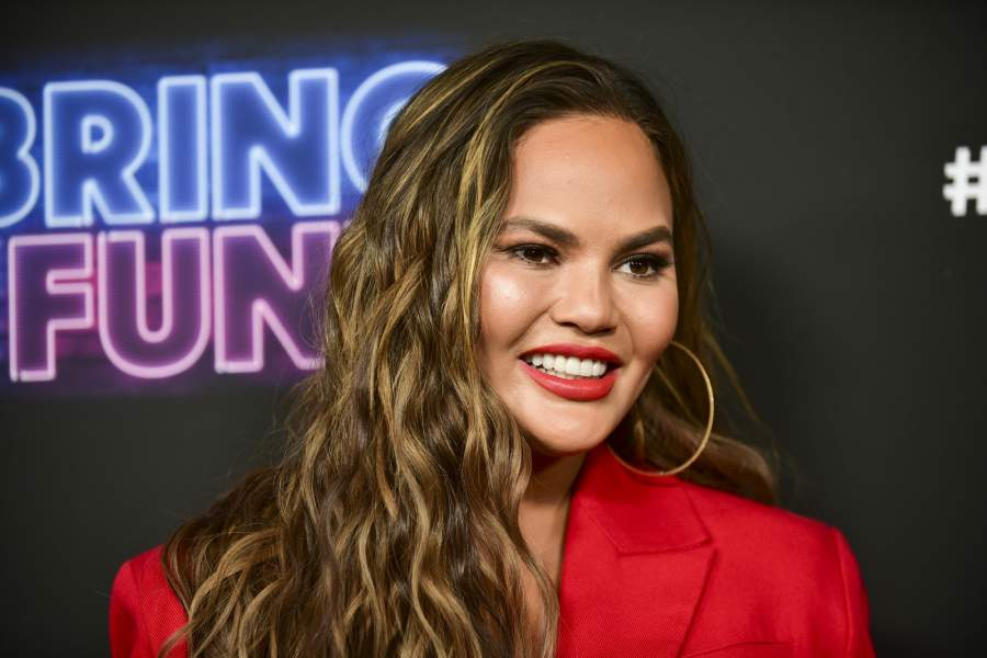 The American TV host and author, Chrissy Teigen