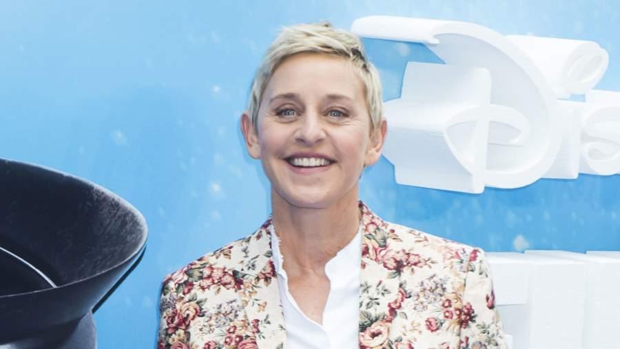 The American TV host, Ellen DeGeneres