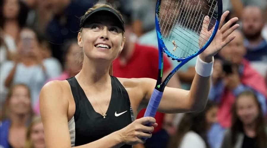 Maria Sharapova played a total of 15 matches last season