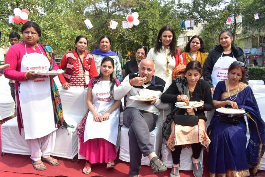 Delhi NGO Sachhi Saheli Conducts 'Period Feast'