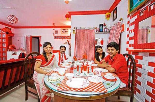 'Sevenraj' has everything in red