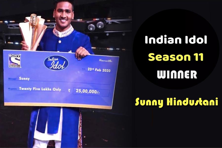 Sunny Hindustani Indian Idol 11 winner