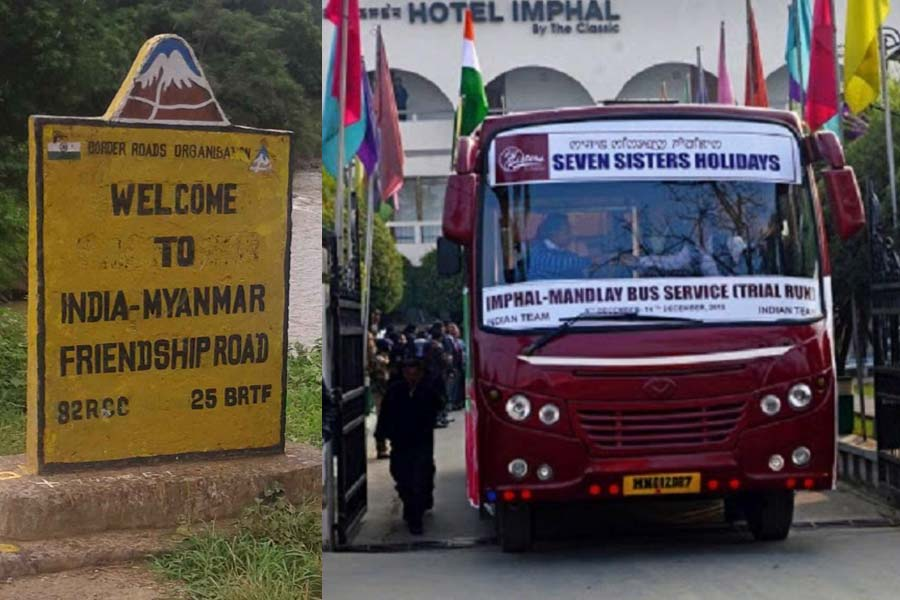 Bus Service from India to Myanmar in April