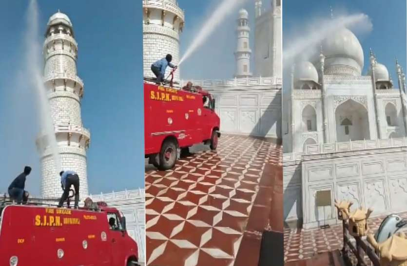 Taj Mahal's tombs have been cleaned