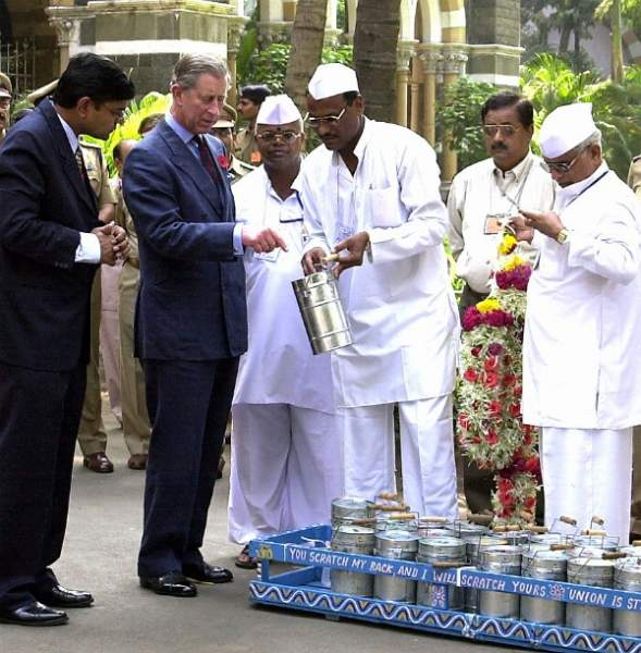 Prince Charles was also a fan of Dabbawalas