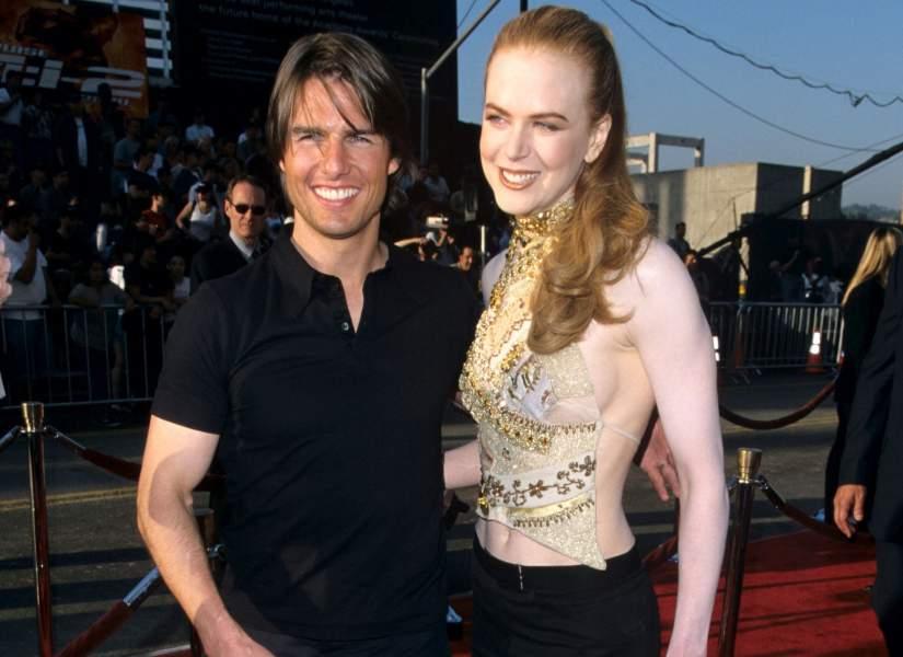 Nikol Kidman with Tom Cruise