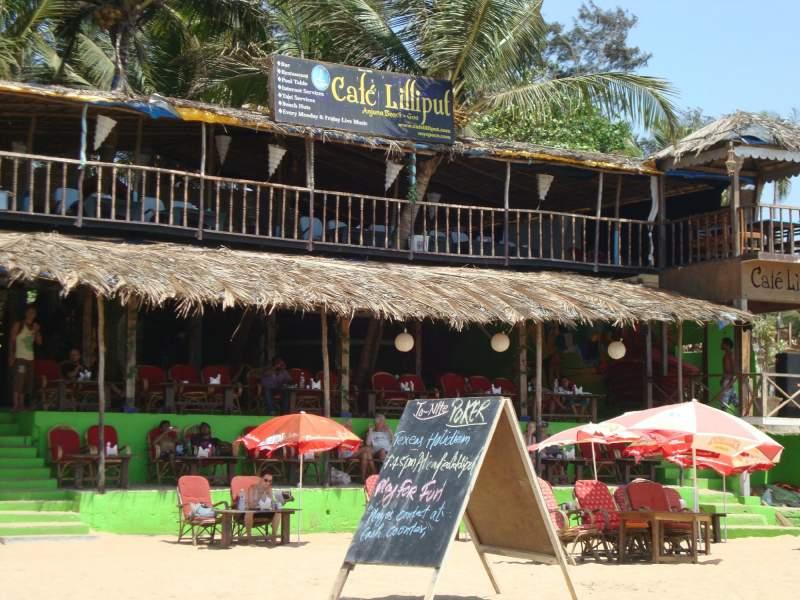 Cafe Lilliput Goa