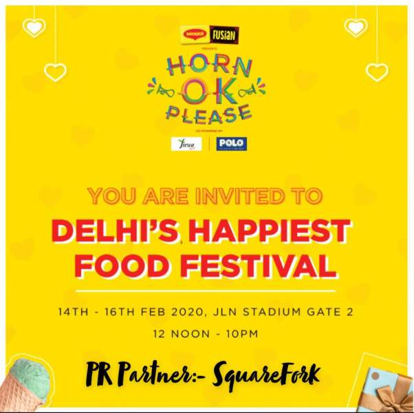 Delhi's Happiest Food Festival 'Horn OK Please'