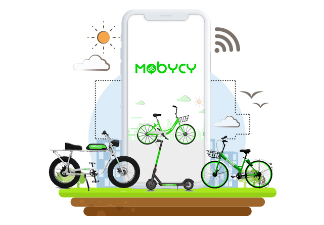 E-bicycle Services Mobycy Zypp