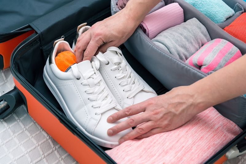 How To Pack Your Shoes When Travelling