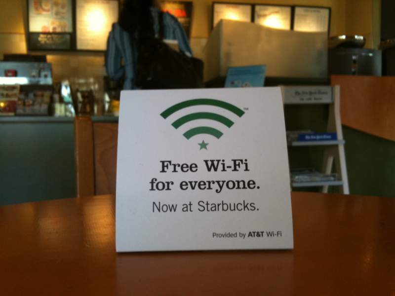 free Wi-Fi throughout the city