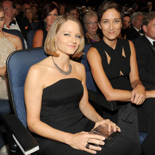 Jodie Foster with Alexandra Hedison