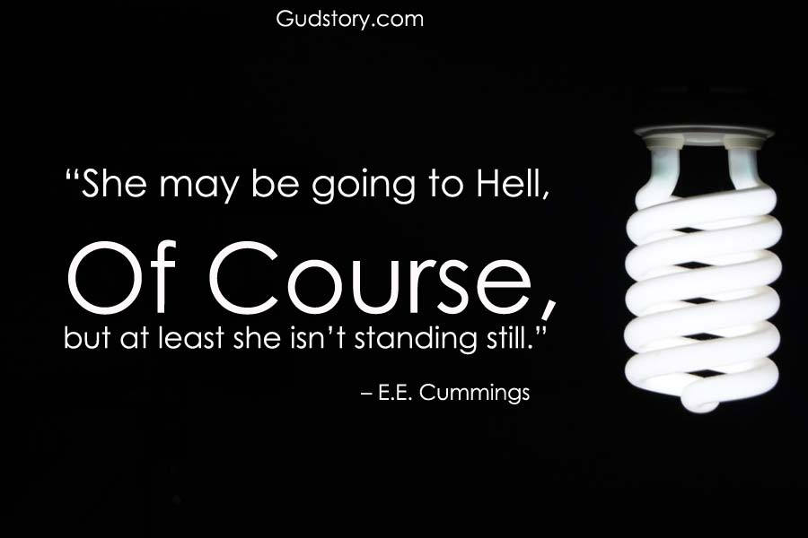 best poetry lines by E E Cummings