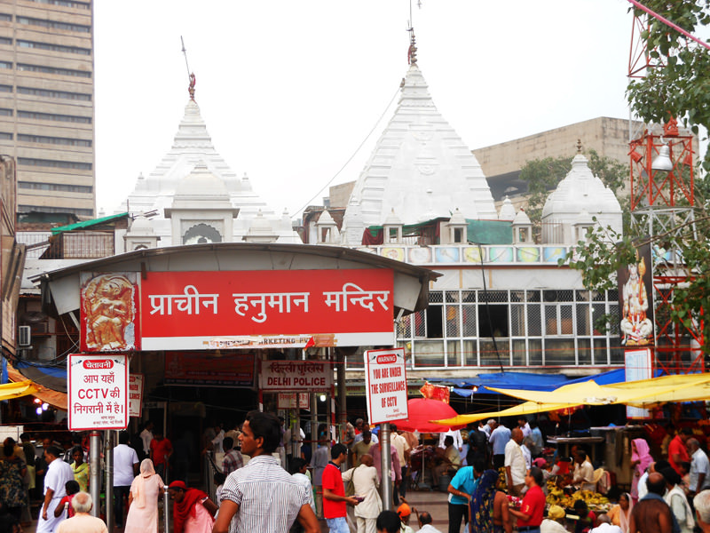 Hanuman Mandir in Connaught Place